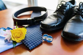 Groom accessories St Catharine's Wedding