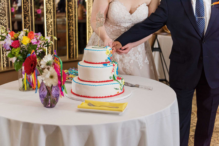 Wedding Cake St Catharine's Wedding