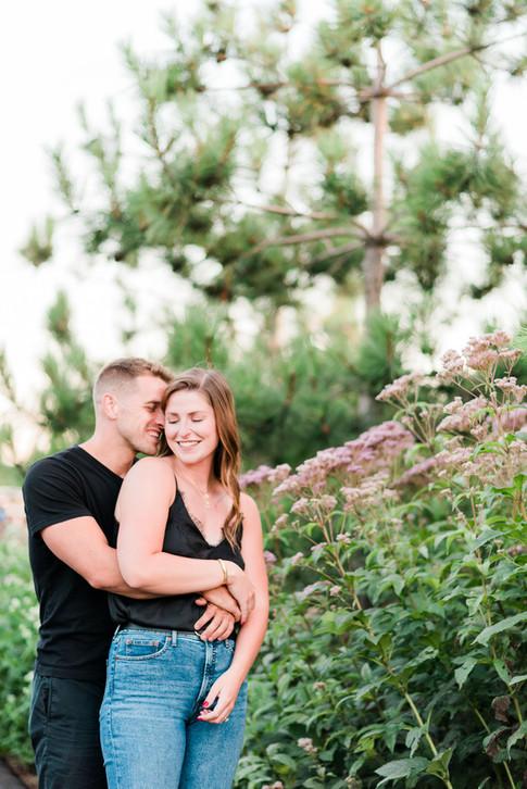 Toronto Engagement Photos at Trillium Park