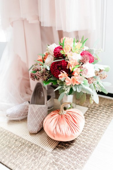 Alicia's Shoes and Flowers