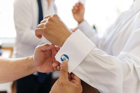 Cufflinks St Catharine's Wedding