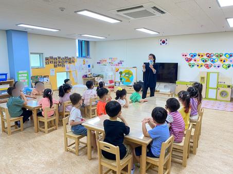 생태문화교실, 6월 28일, 하랑초등학교 병설유치원