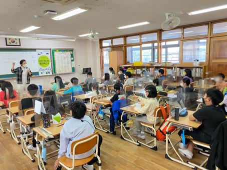 생태문화교실, 10월 14일, 예봉초등학교