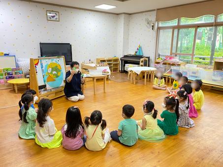 생태문화교실, 6월 7일, 구룡초등학교 병설유치원