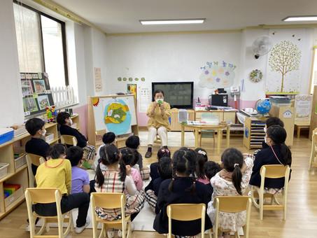 생태문화교실, 5월 12일, 봄샘유치원