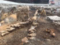 Sandstone box drain