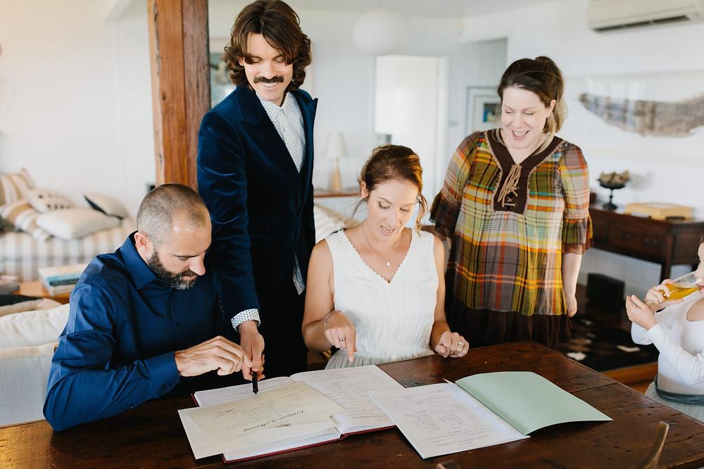 Wedding elopement Kiama NSW