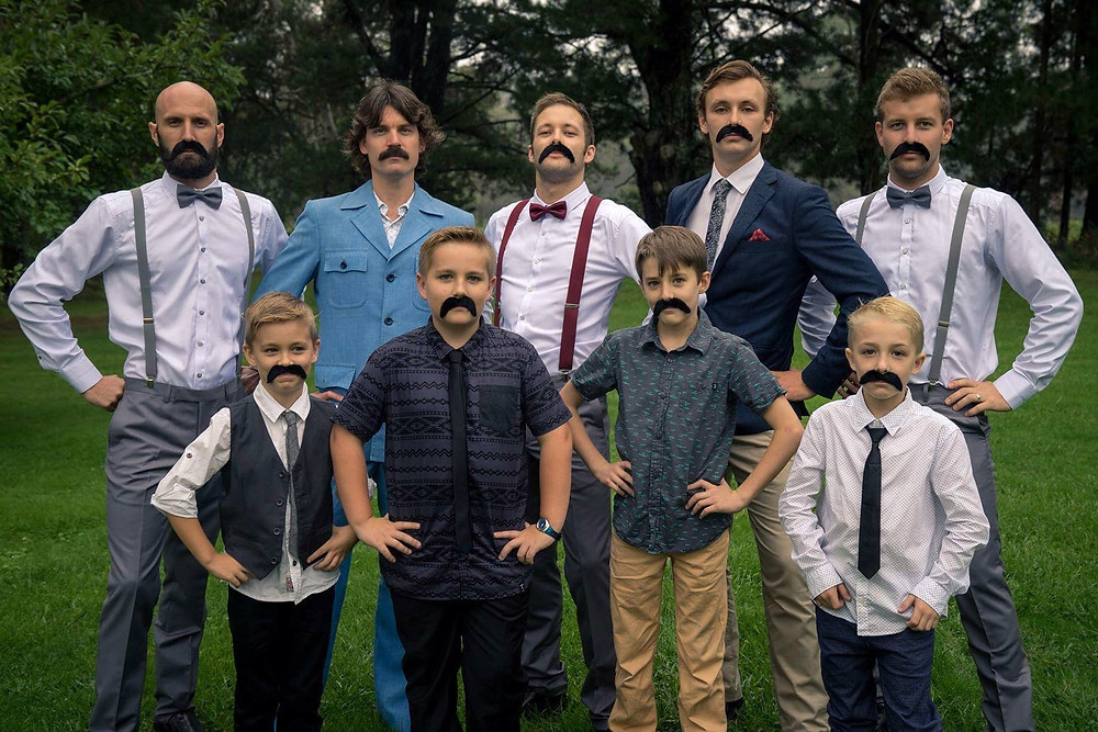 Moustache Men Married By Todd South Coast Celebrant