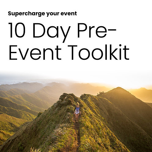 ERB Pre-Event Toolkit