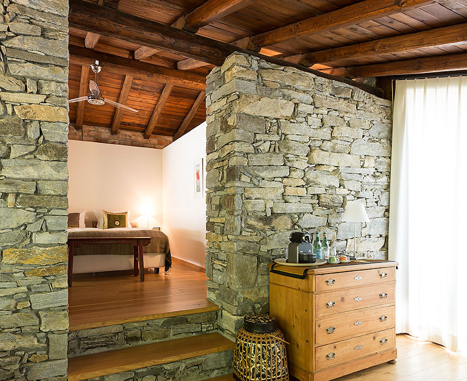 Rustico 1 Wohnzimmer und Schlafzimmer