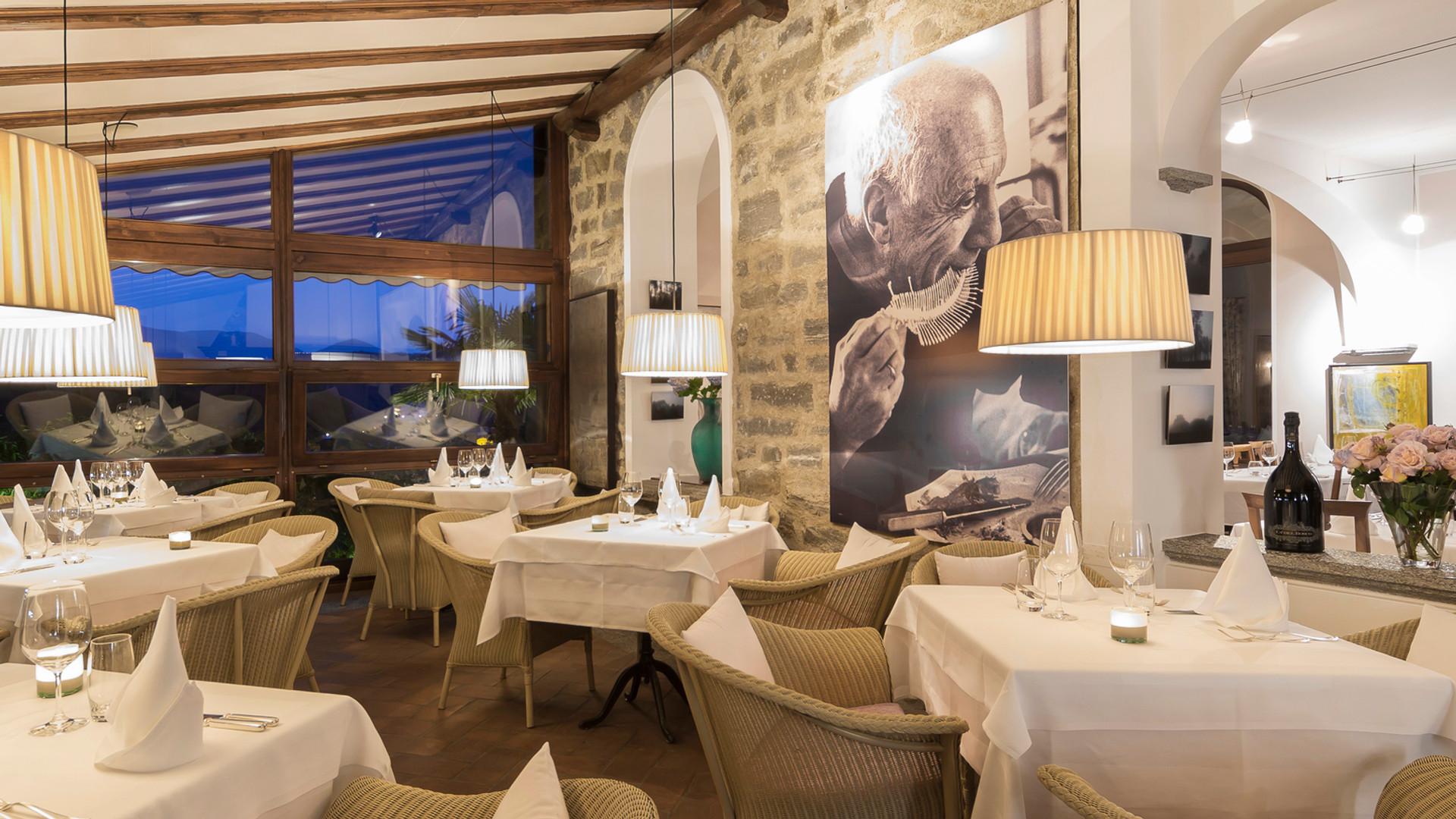 Restaurant Da Enzo, inside