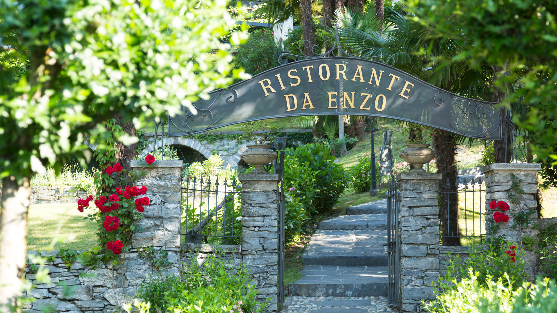 Restaurant da Enzo, entrance