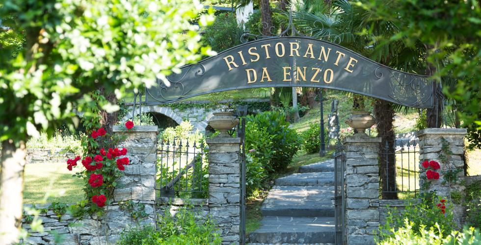 Ristorante da Enzo, ingresso