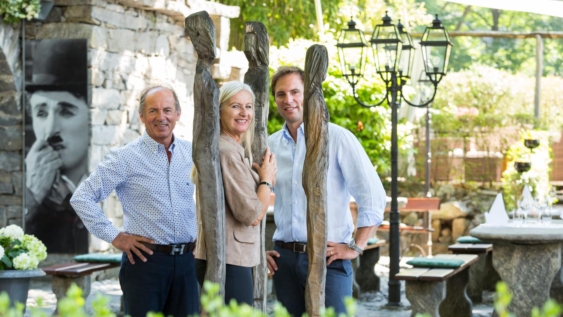 Enzo, Josi und Sergio Andreatta