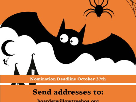 Halloween Decoration Contest!