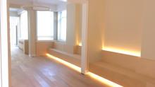 Van een gedateerde leefruimte naar een heerlijke relaxruimte