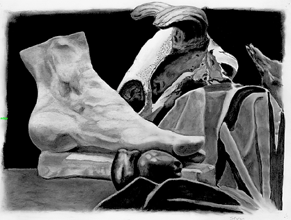 Still life Observation (Charcoal)
