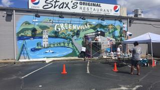 Life Taste Better in Greenville mural
