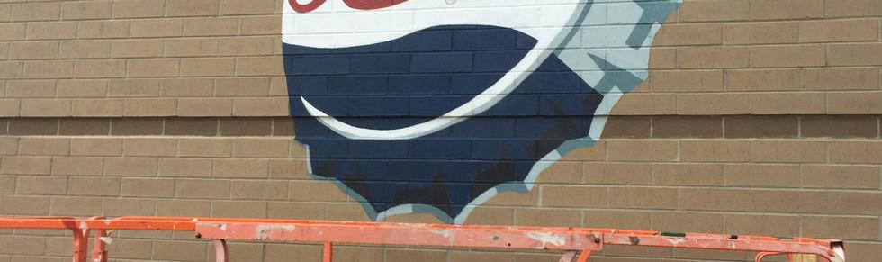 Pepsi Terrace mural