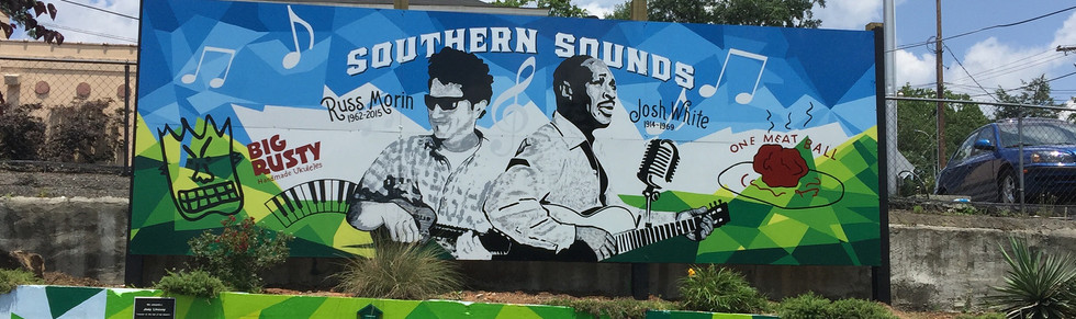 Southern Sounds mural