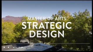Master of Arts in Strategic Design