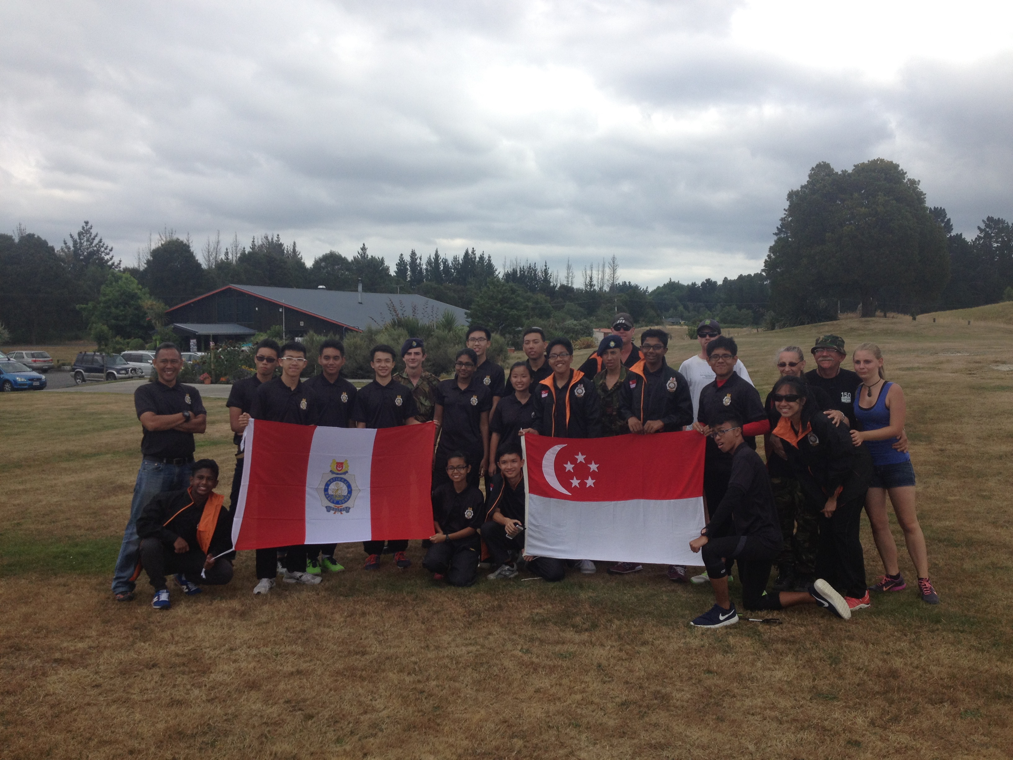 Singapore Cadets Team Building Taupo