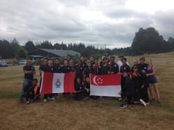 Singapore Cadets Team Building Taupo