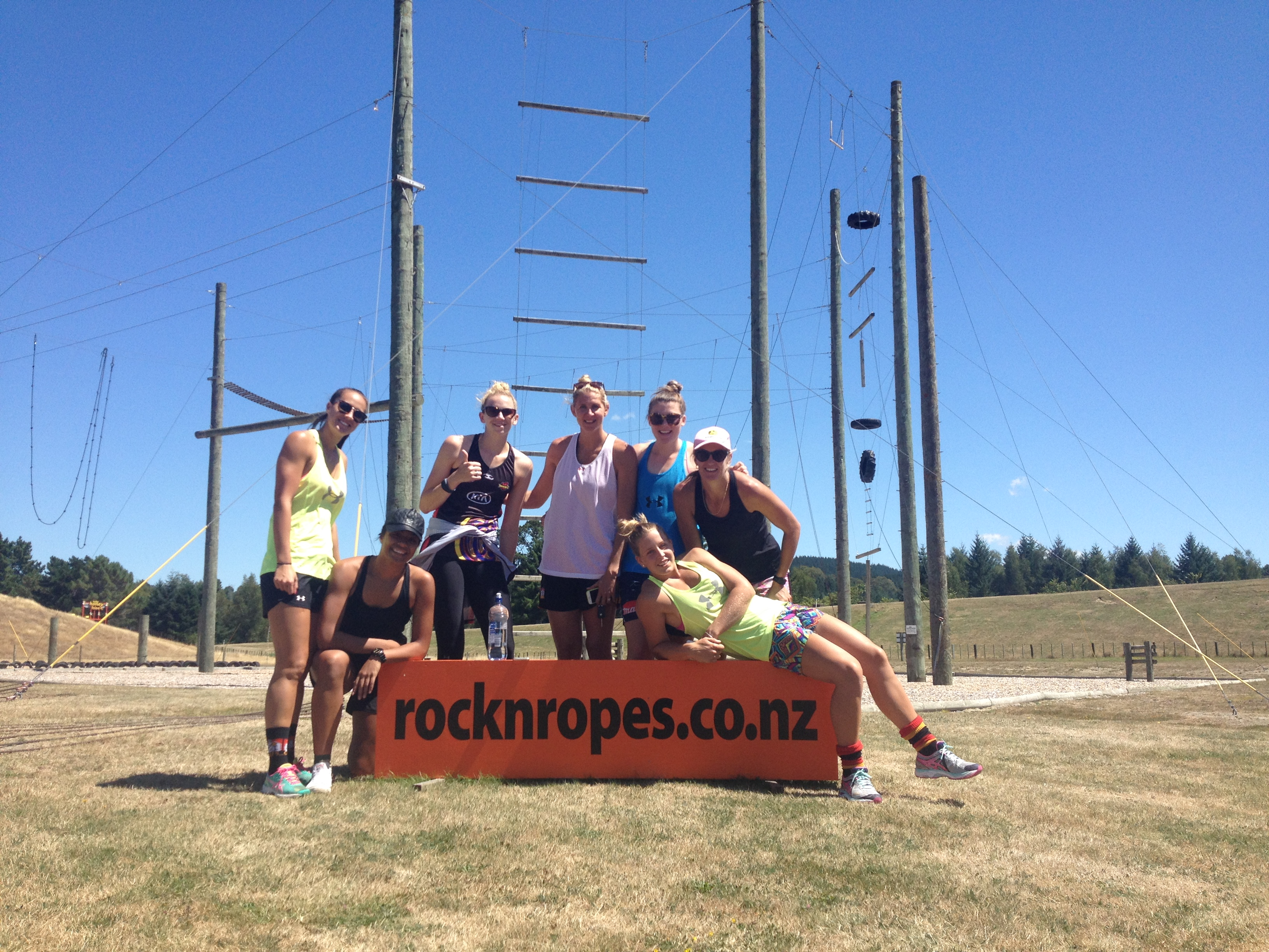 Magic Netball Team Building Taupo