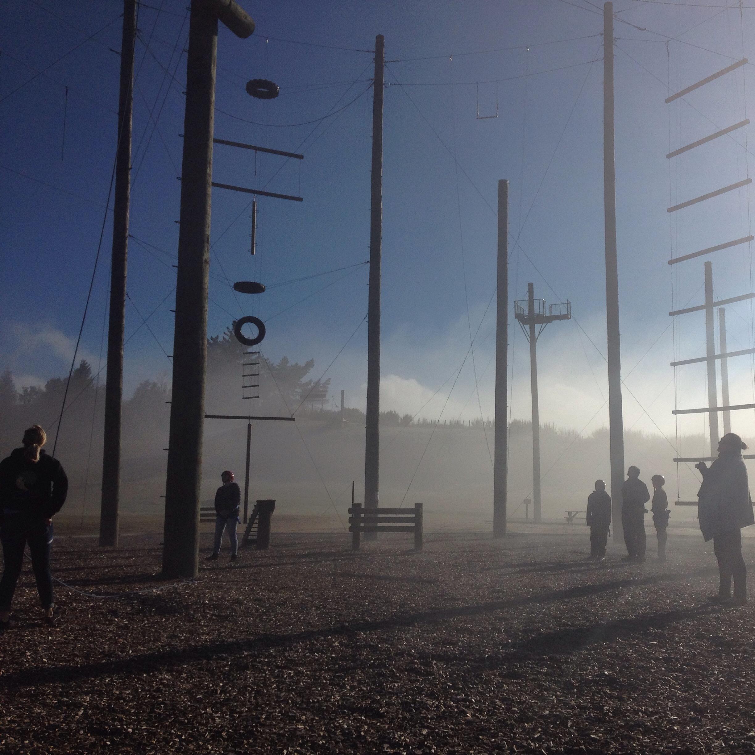 Foggy Morning Taupo
