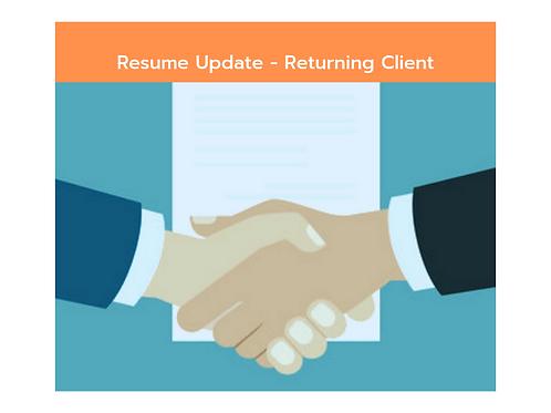 Returning Client - Full Update