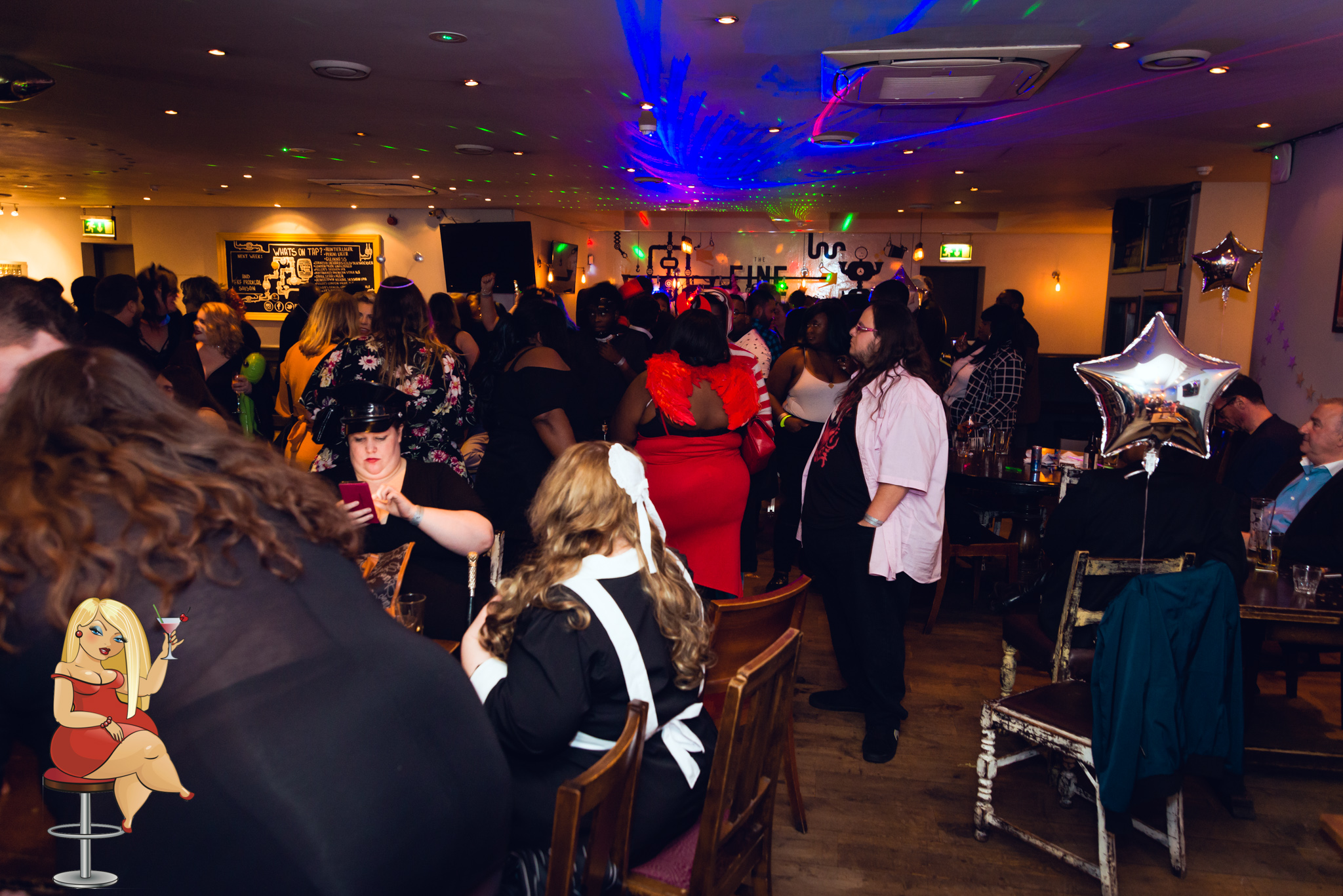 London Plus size & BBW events _ flora lu