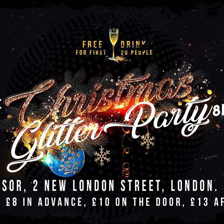 LONDON Club Indulge Christmas Glitter Party!