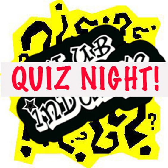 Quiz night 2nd October