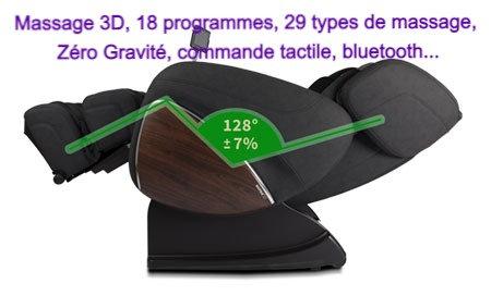 Fauteuil Massant Evasion 3D Zero Gravité Supra France