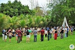Festival no gramado