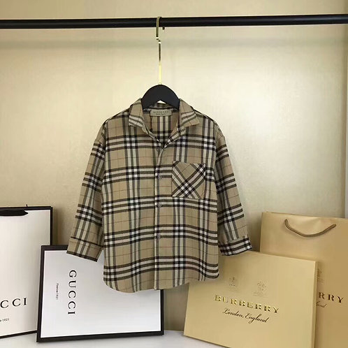 [Burberry]#버버리키즈 남여아공용 캐주얼 셔츠 K08059336