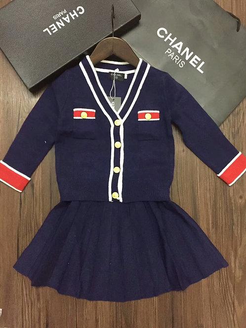 샤넬 Chanel 키즈 스쿨스타일 케주얼세트 K02066853
