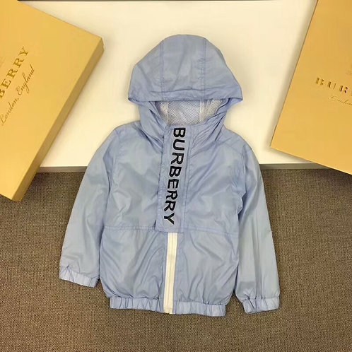 [Burberry]#버버리 키즈 로고 후드 집업자켓K08059336