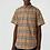 Thumbnail: 【Burberry】#버버리 신상 남 옐로우 슬리브리스 빈티지 체크 셔츠 C01081600