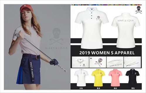 [마크앤로나 ]# 19ss 신상 여성 반팔 티셔츠 4색 G02035606