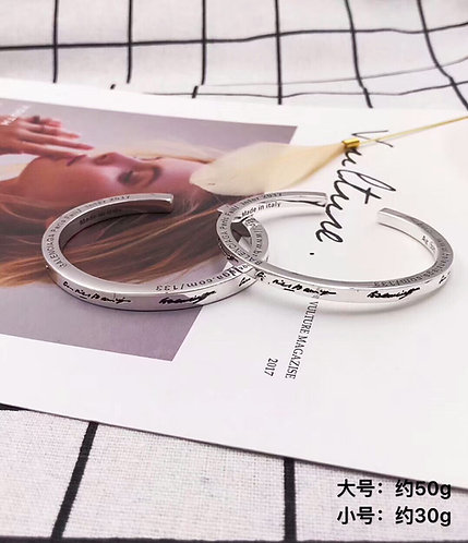 [Balenciaga]발렌시아가 남녀커플룩 클래식  팔찌 F01113202