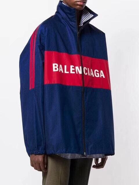[Balenciaga]#발렌시아가19ss 집업 로고 재킷(라지핏) A08072360