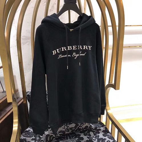 [burberry] 버버리 자수 후드티 A01080236
