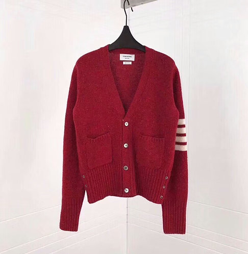[THOMBROWNE]톰브라운 YR859-48 남녀공용 캐시미어 스웨터 A26108401