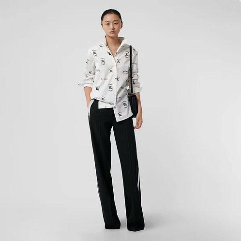 [Burberry]#버버리 신상여 스판면 셔츠 C01076536