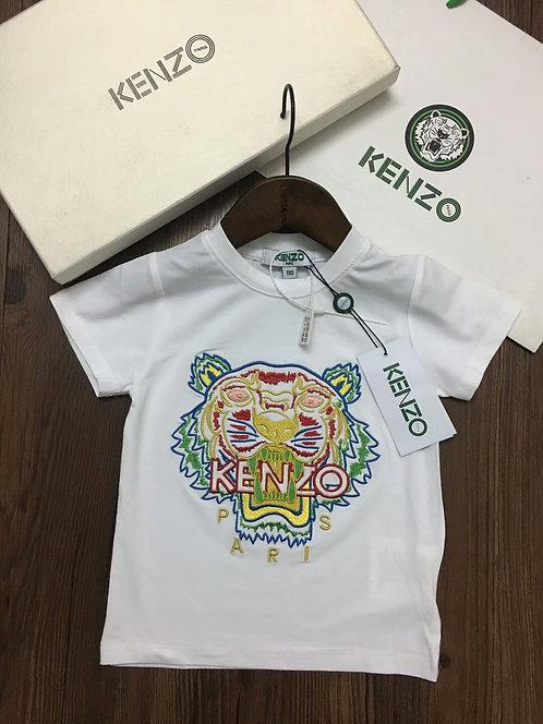 [Kenzo]#겐조 키즈 반팔 티셔츠 K02044160