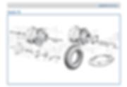 Lambretta LD 125 wheel rim