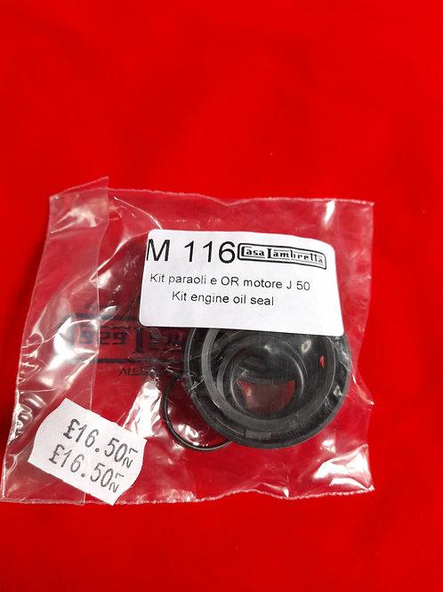 Oil seal kit for 50 J Lui