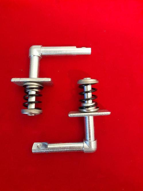 Pair of internal side panel handle mechanism