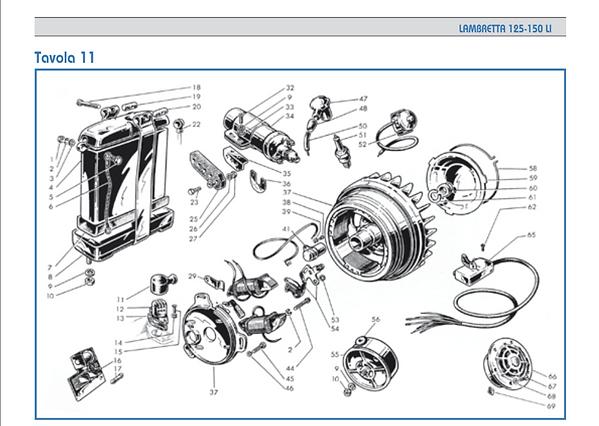 Lambretta LI series 1 ignition coil